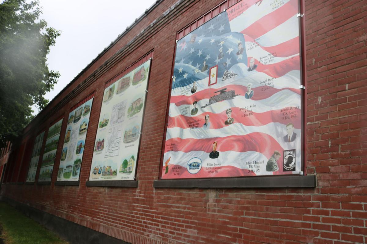 Nunda celebrates local history with new murals