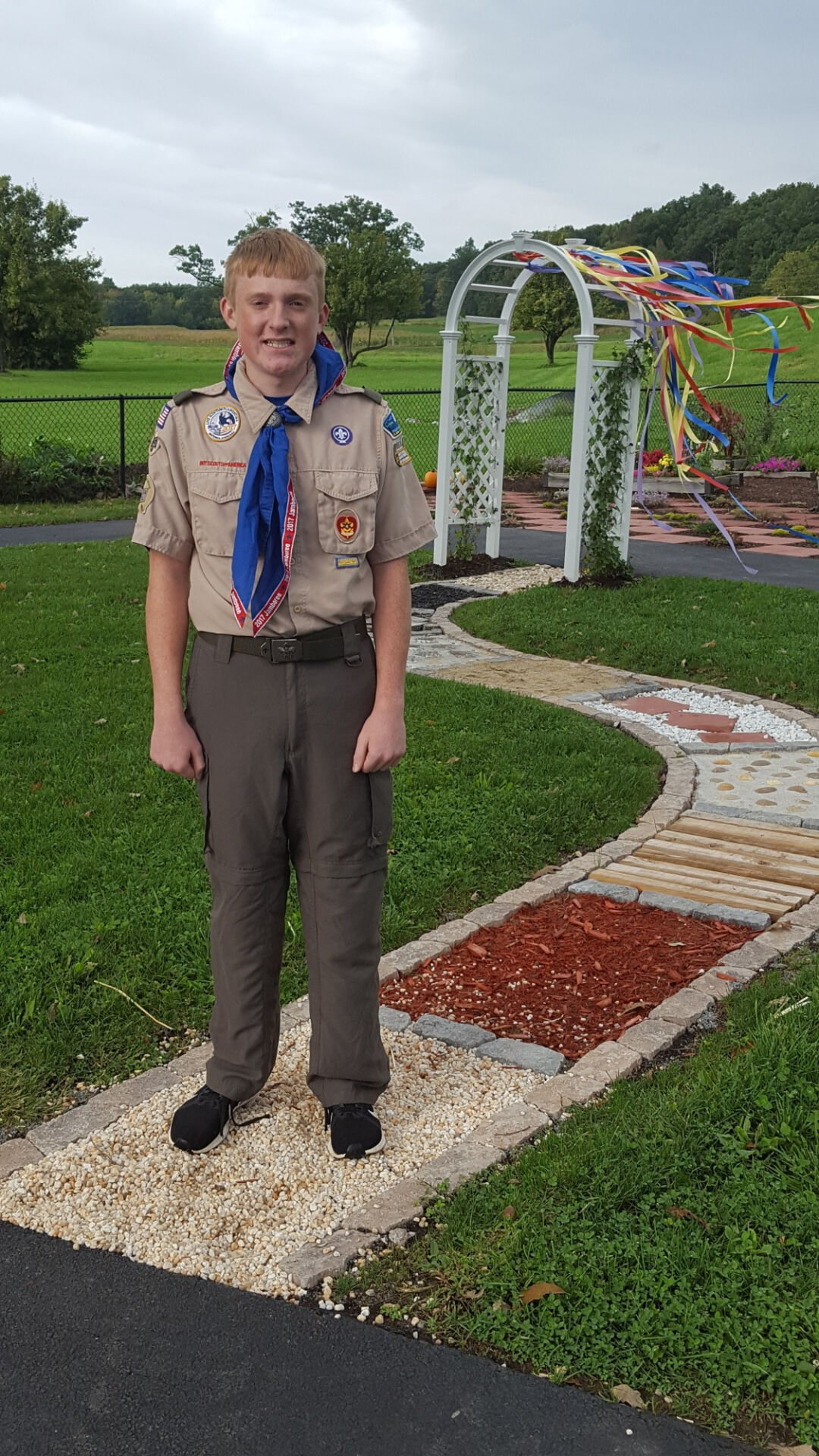 2 area Scouts earn Eagle rank