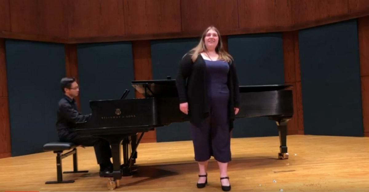 Dreaming of the world's great stages VIRTUAL CONCERT: Scholarship winner sets sights on opera career