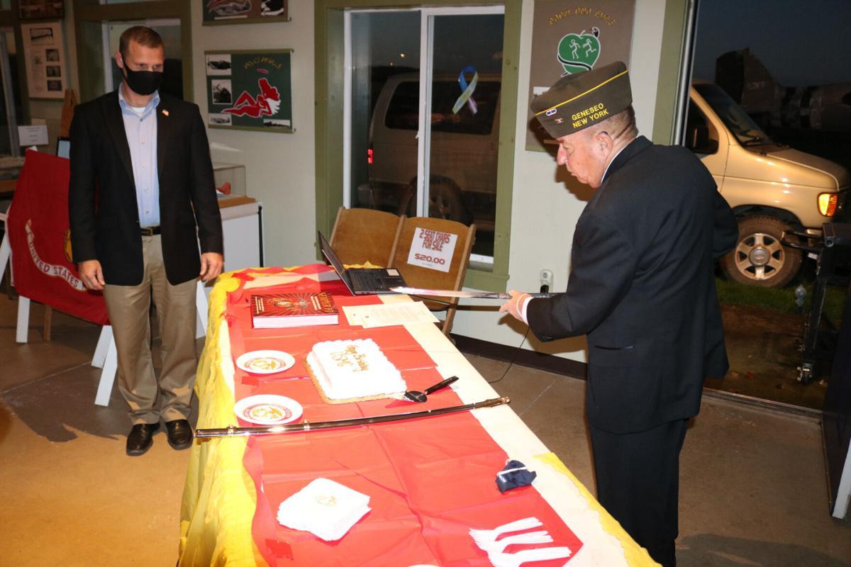 Marines celebrate Corps' 245th birthday