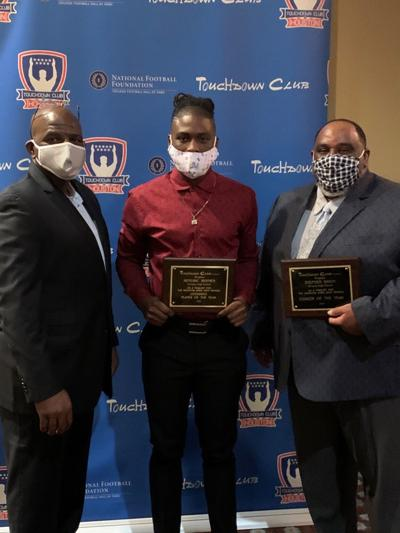 Heights' Dixon, Rhymes honored by Houston Touchdown Club