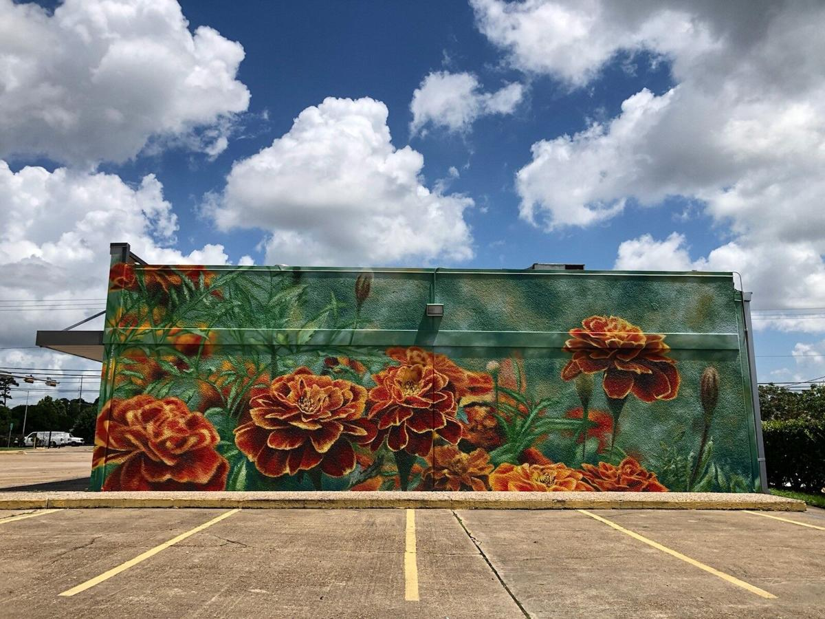 INSIDE PROMO-6. Anat Ronen's completed mural __One Love__at 3344 E. TC Jester.jpg