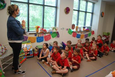 Students at St. Rose enjoy new educational building