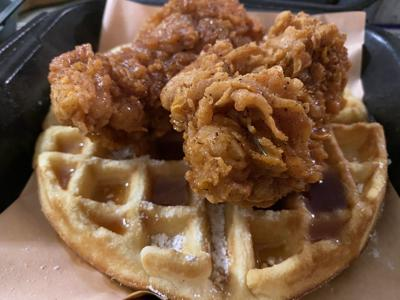 The Cookshack Chicken-Waffles