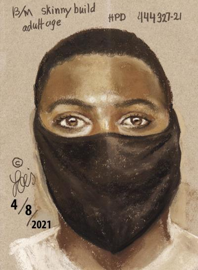 Suspect sketch released in local entertainment center shooting
