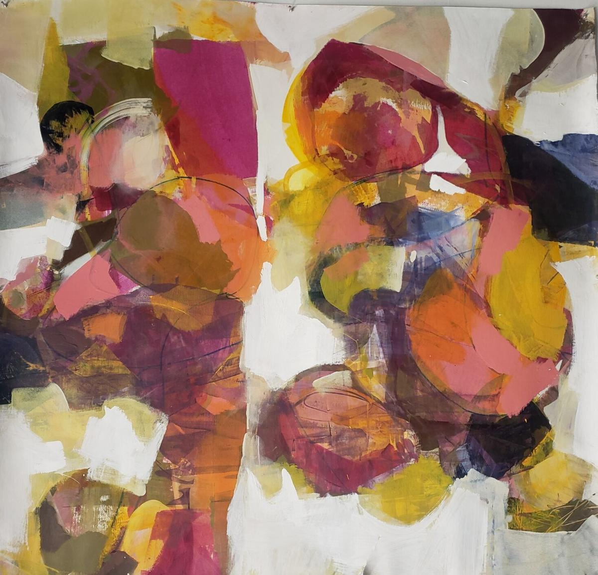 Abstract painting by Ron Gordon that will be on view at Artíque this Saturday.jpg