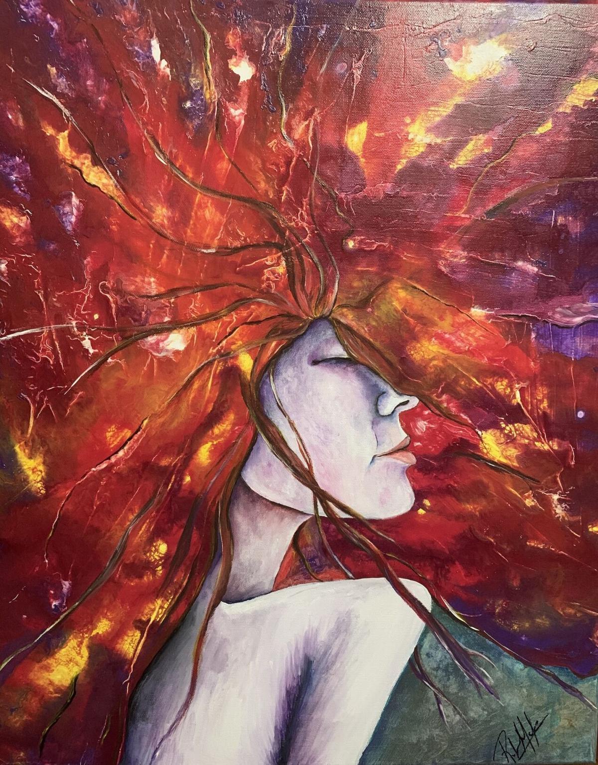 1 Wildflower, a painting by Rebekah Molander.jpg