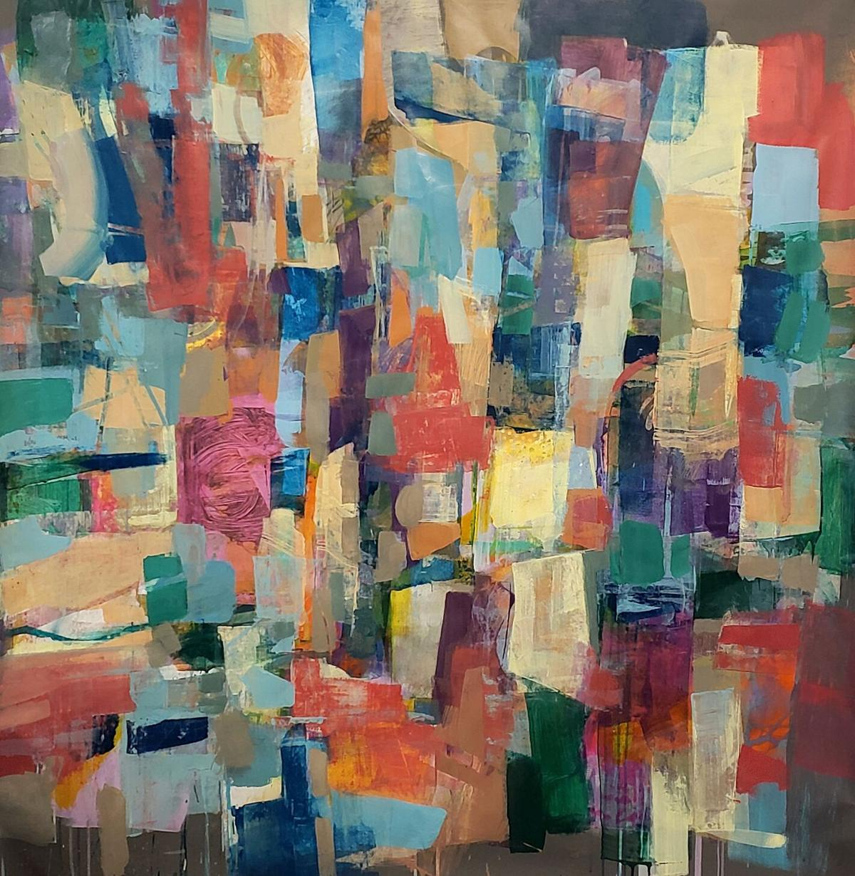 Abstract painting by Ron Gordon that will be on view at Artíque this Saturday.jpg (2).jpg