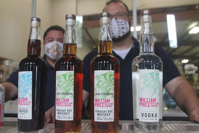 Local distillery ready to serve after unique start
