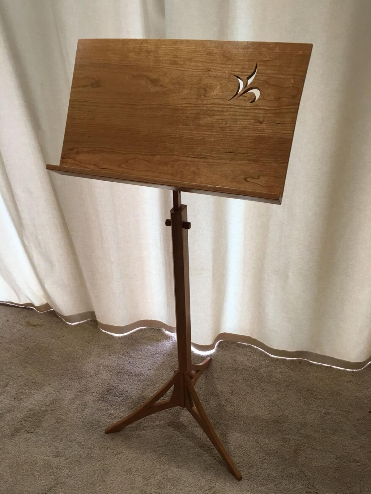 Music stand by R. Michael Hardy