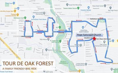 Tour de Oak Forest