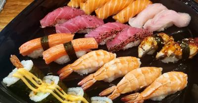 Sushi popularity continues to grow