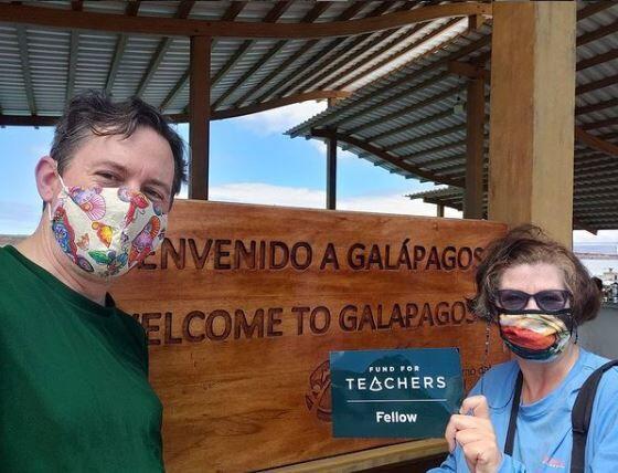 Local teachers bringing Galapagos Islands to class