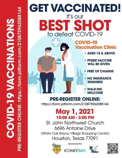 Inwood church hosting COVID-19 vaccination event