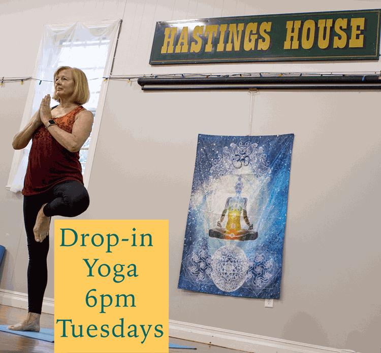 Yoga at Hastings House