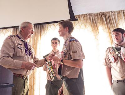 Four Honored in Troop 3's 2020 Eagle Scout Court of Honor Ceremony Saturday