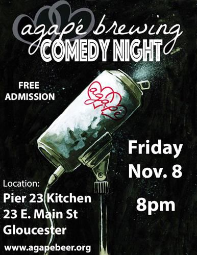 Agapé November Comedy Night