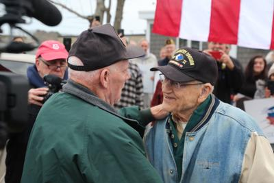 "Vincent ""Vin"" Terrill Reunites with Fellow WWII Veteran After 74 Years"