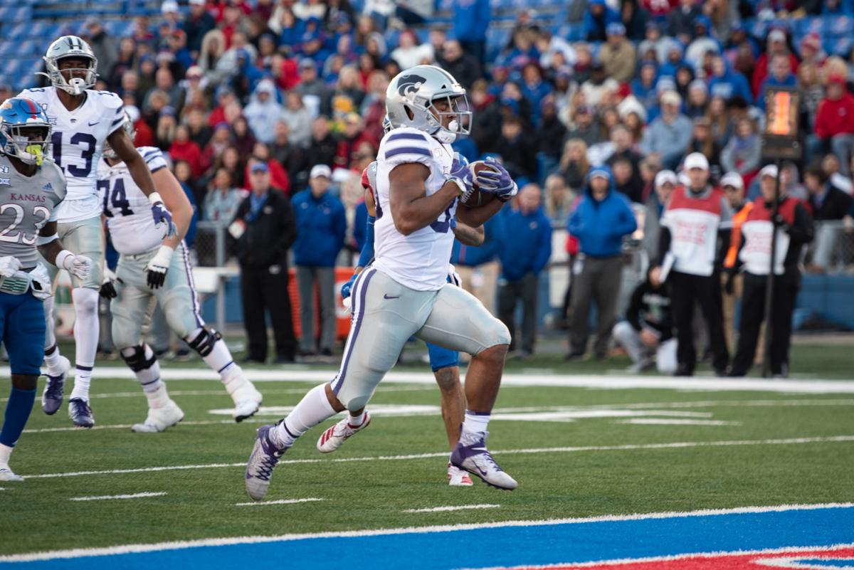 Tyler Burns scores a touchdown