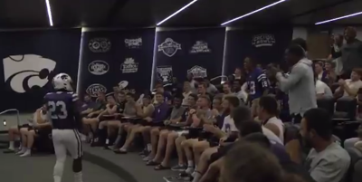 K-State football players react to alternate jersey news