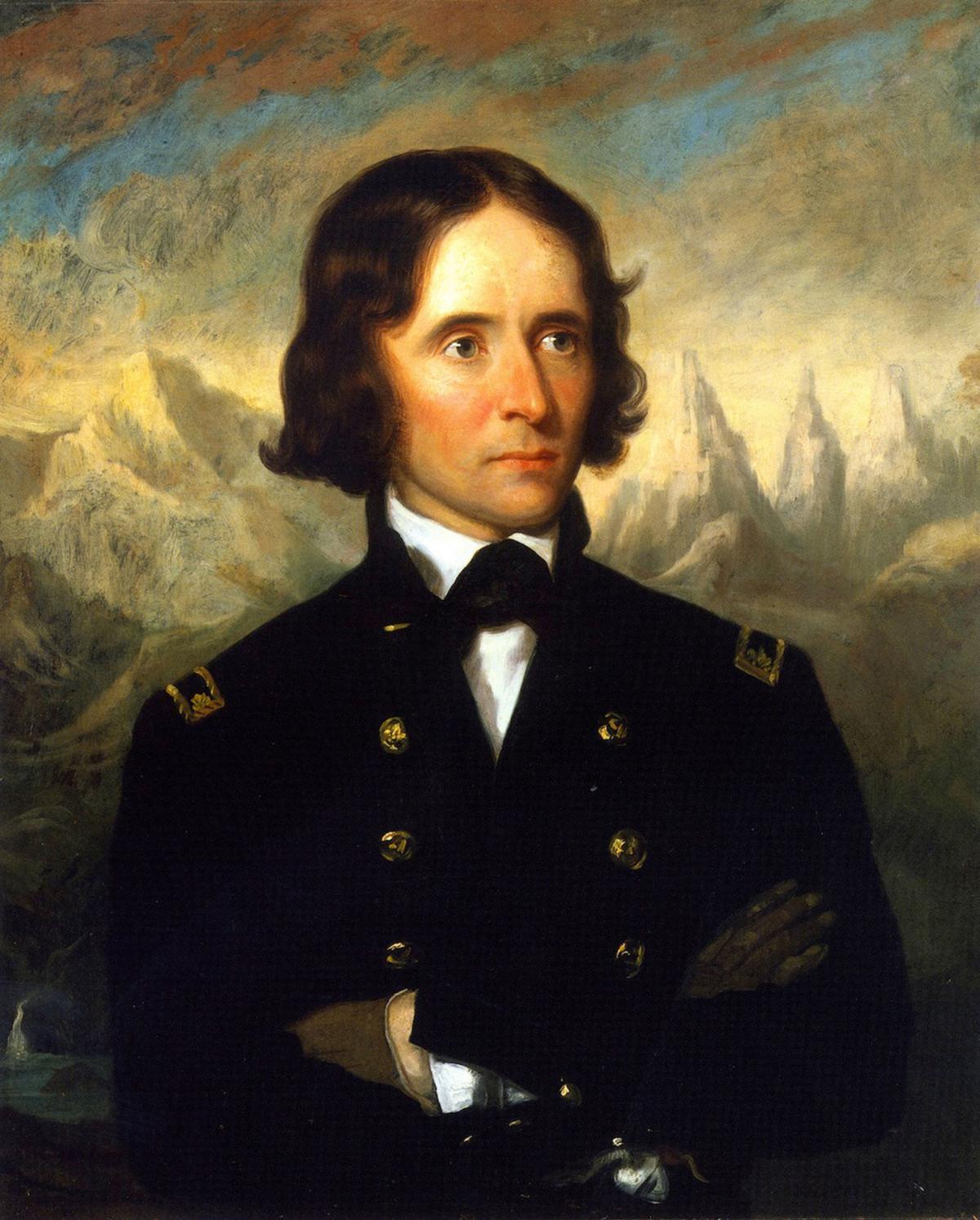 John Fremont painting