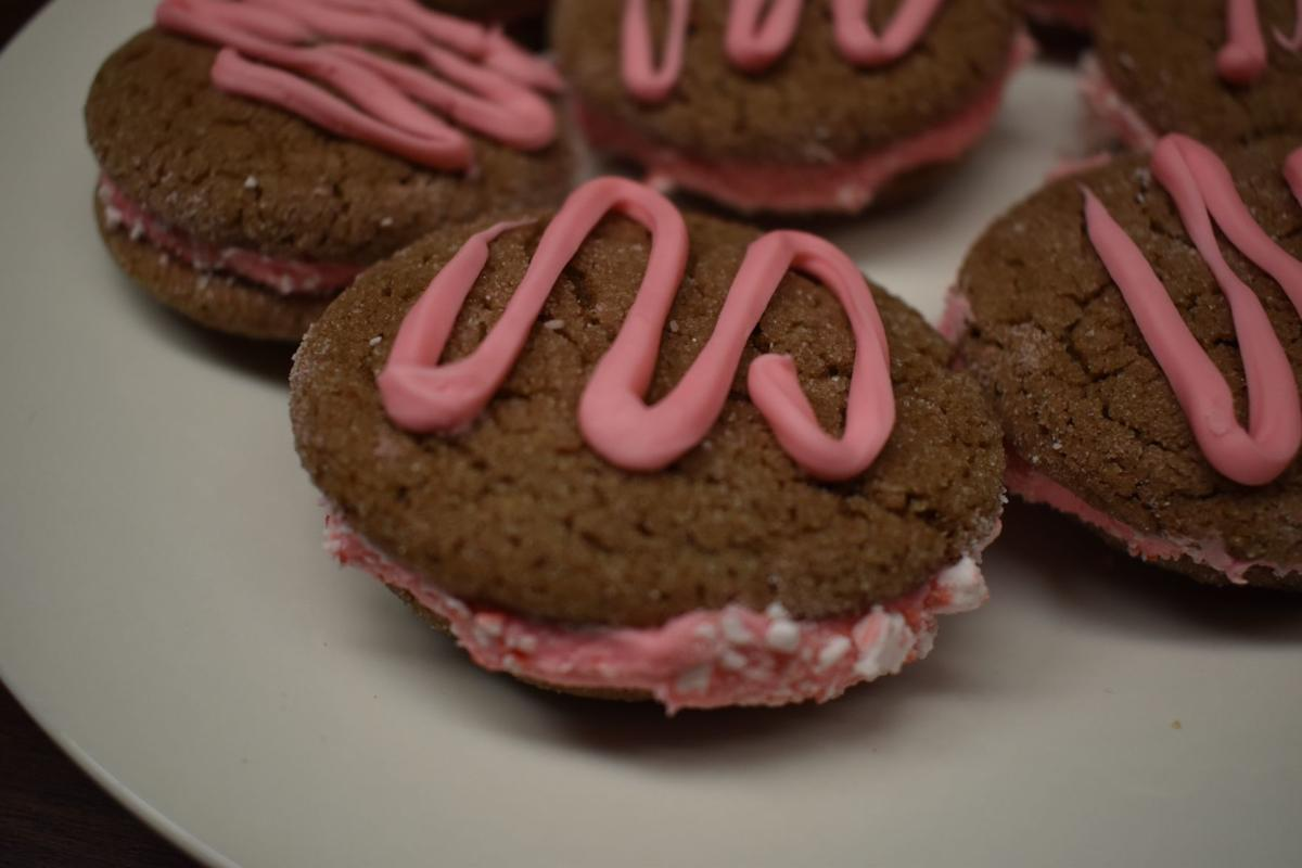 Peppermint chocolate sandwiches