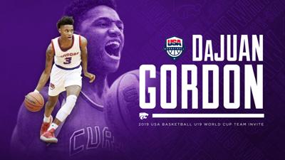 DaJuan Gordon, USA Basketball