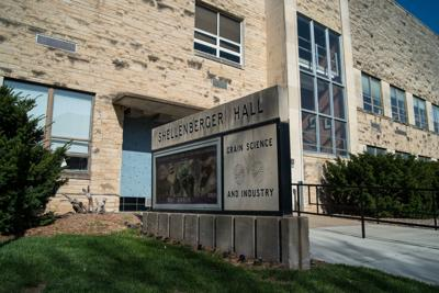 Shellenberger Hall is home to the Department of Grain Science and Industry