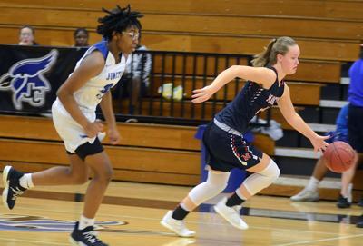 Manhattan girls basketball defeats Junction City