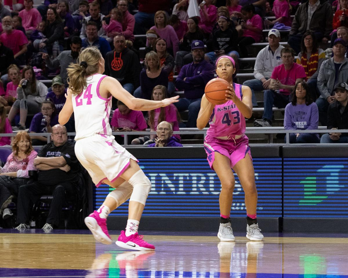 Chrissy Carr against Iowa State