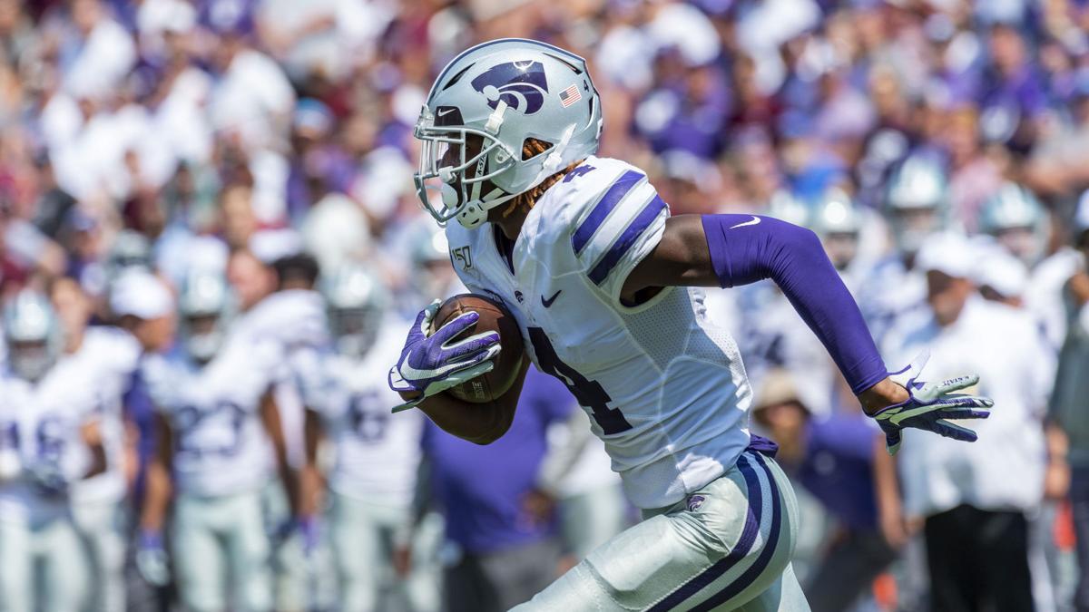 Kansas St Mississippi St Football, Knowles TD retrurn