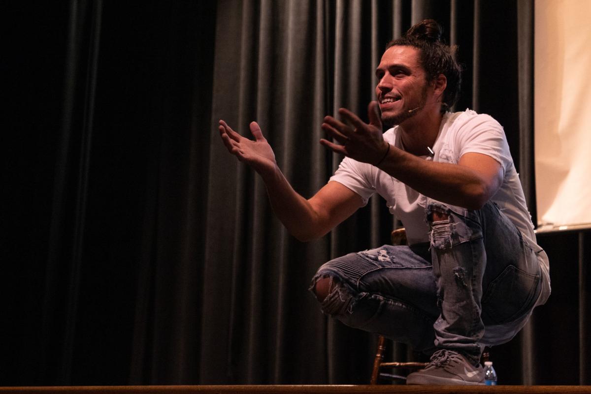 Nathan Harmon at Rezac Auditorium
