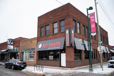 Fat Shack, a new burger restaurant in Aggieville, is on the corner of Moro Street and 12th Street.