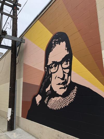 Local Artist Women Complete Downtown Rbg Mural News Themercury Com