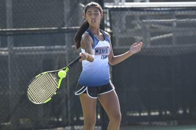 Manhattan girls tennis, Kayla Lei
