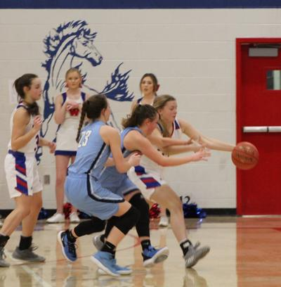Riley County vs. Wabaunsee girls, Jan. 2020