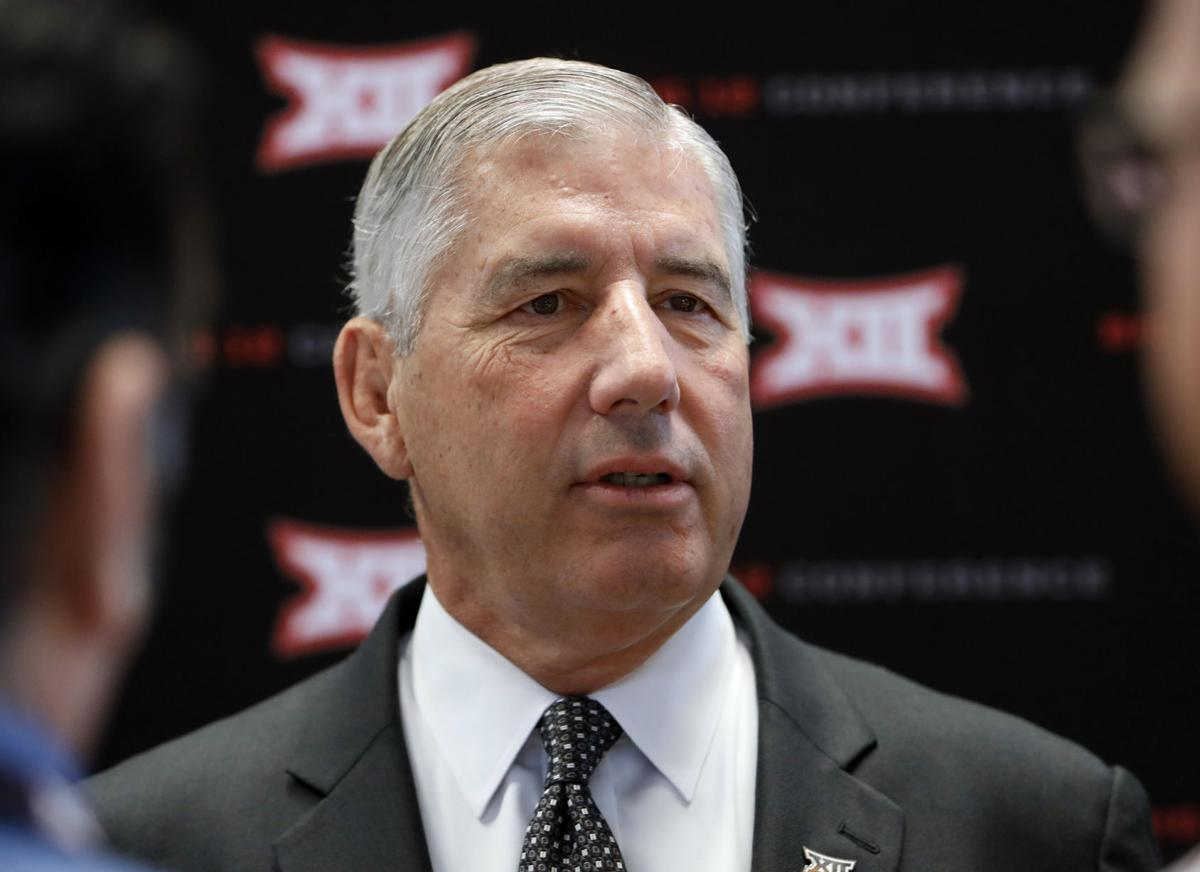 Big 12 commissioner Bob Bowlsby talks league, College