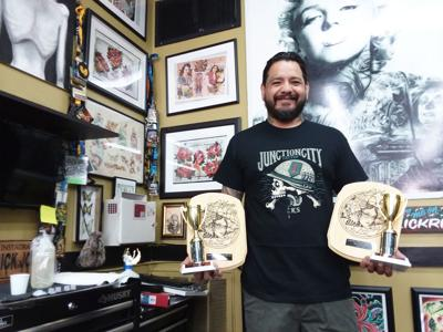 Junction City tattoo studio sweeps Kansas City competition | Local ...