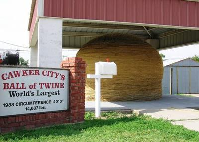 Cawker City World's Largest Ball of Twine
