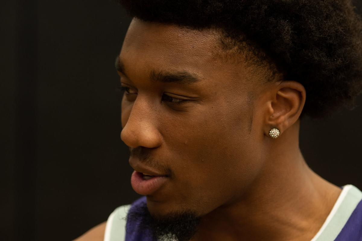 Xavier Sneed answers questions