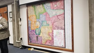 USD 383 school boundary map