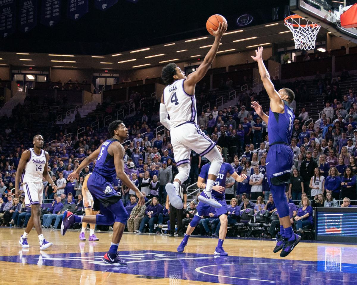 Kansas State's David Sloan vs. TCU Jan. 2020