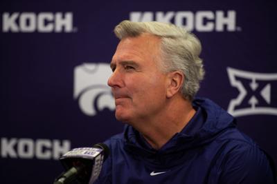 Kansas State Men's basketball head coach Bruce Weber