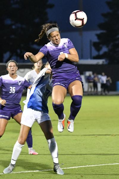 K-State Soccer wins home opener over St.Louis, 1-0.