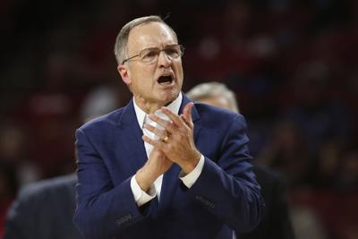 Kansas St Oklahoma Basketball, Lon Kruger