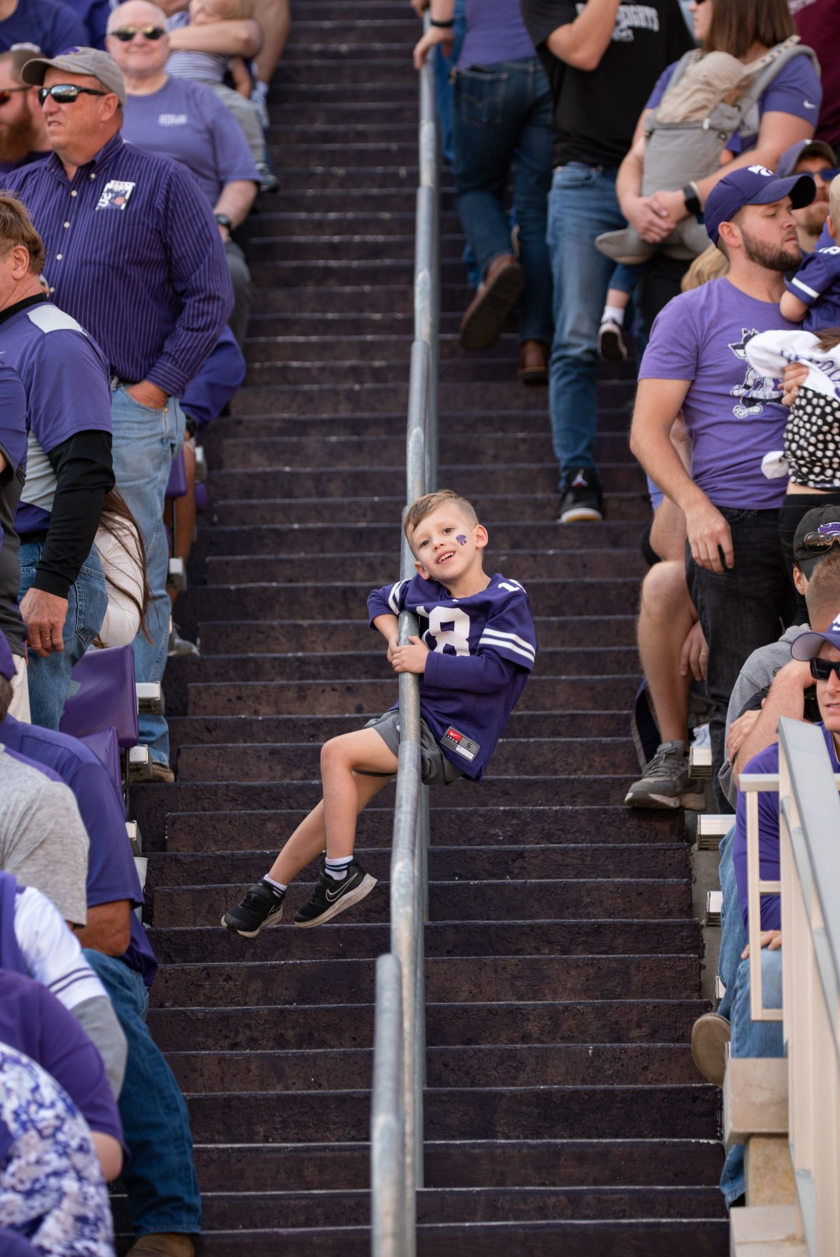 K-State fan Rex Calhoon