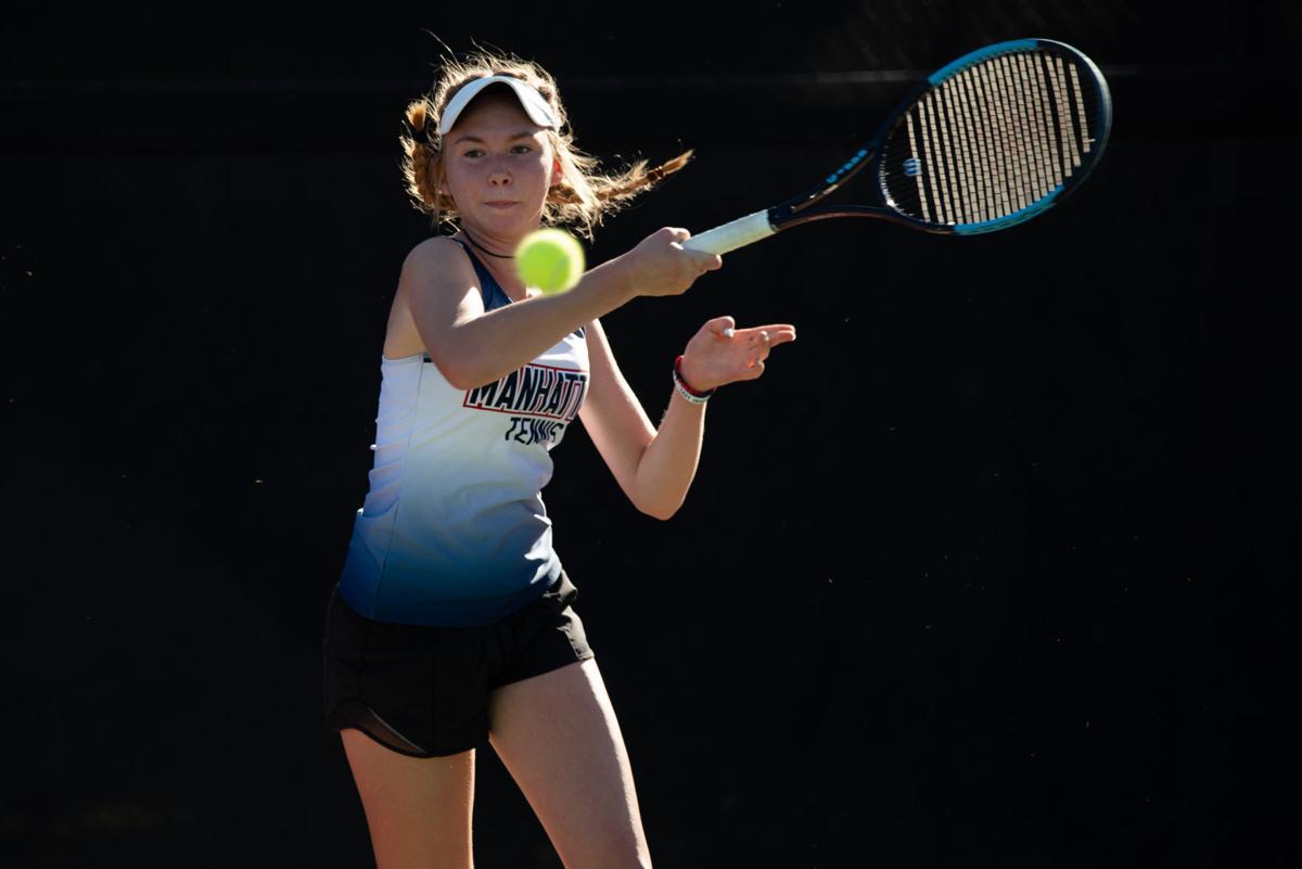 Jillian Harkin volley