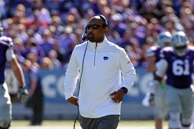 K-State offensive coordinator Andre Coleman
