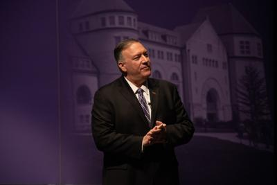 Mike Pompeo K-State lecture