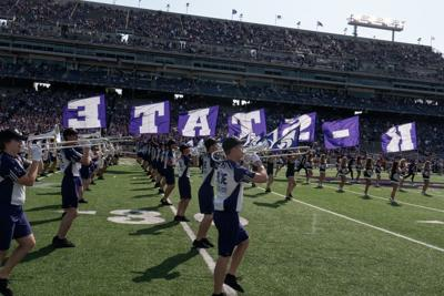 K-State band takes the field